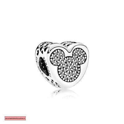 Pandora Scontati Disney Charms Mickey Minnie Vero amore