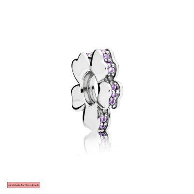 Pandora Scontati PURPLE WILDFLOWER PRATO SPACER FASCINO